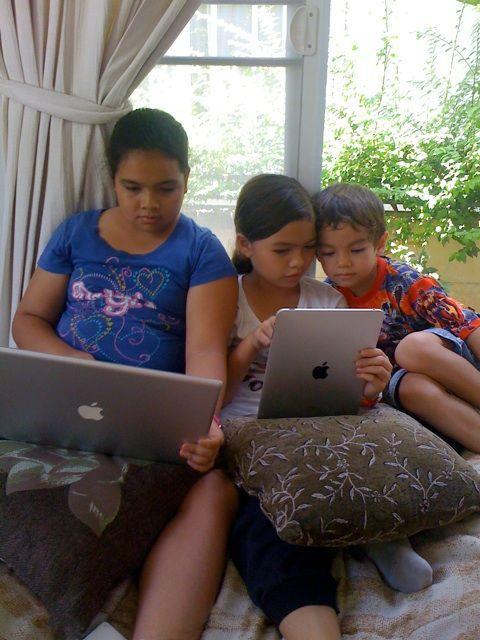 Apple-nördar i Thailand.