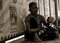 Tiggare är ett stort problem i Phuket