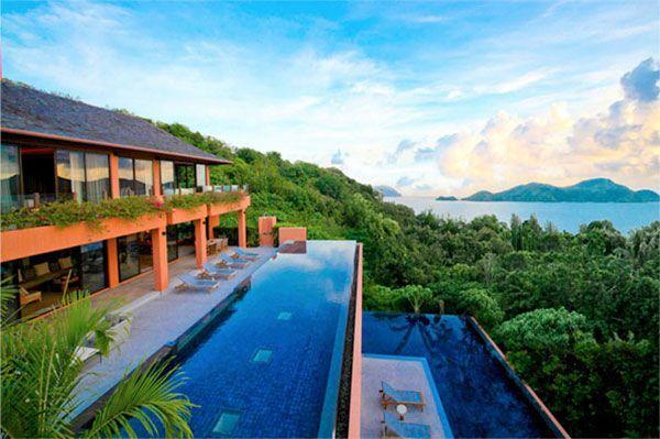 Priserna på hotellen i Thailand varierar kraftigt.