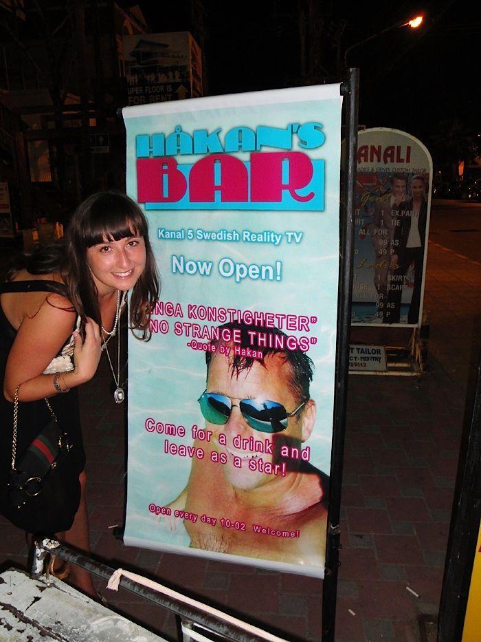 Håkans Bar i Phuket