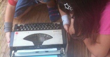 Skrivmaskin bättre än Macbook