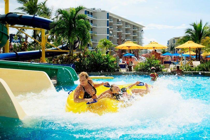 Jungle Splash vattenpark i Phuket.