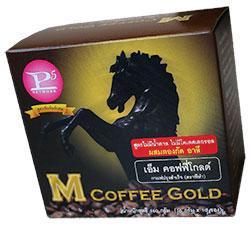 Thaiagra M Coffee Gold som innehåller Tongkat Ali och Arginin.