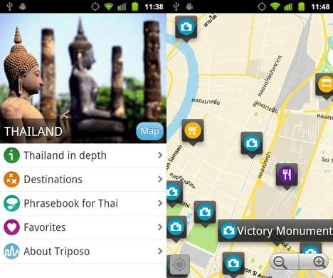 Triposo Thailand Travel Guide Android